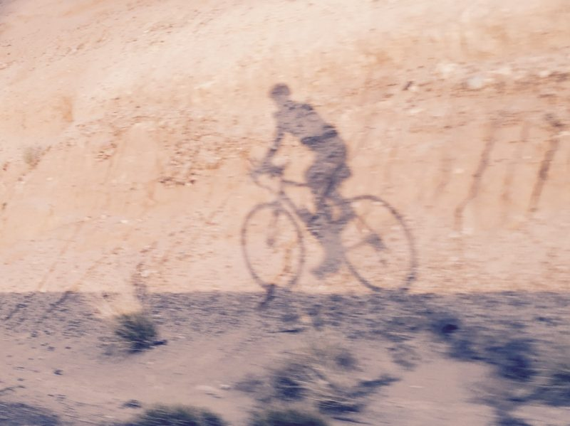 Honor Ride shadow selfie