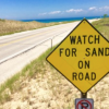DHR17 - sand on the road