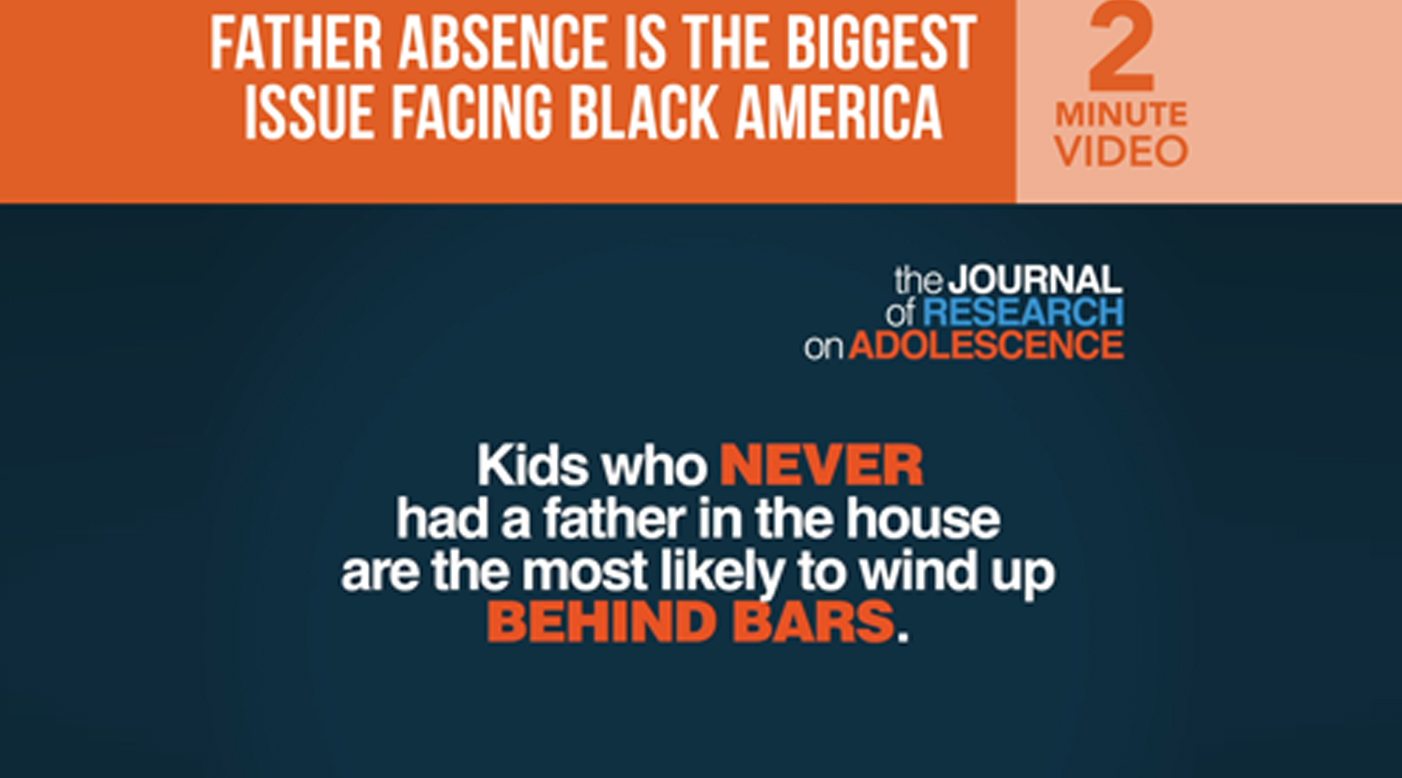 /father-absence-is-the-biggest-issue-facing-black-america/